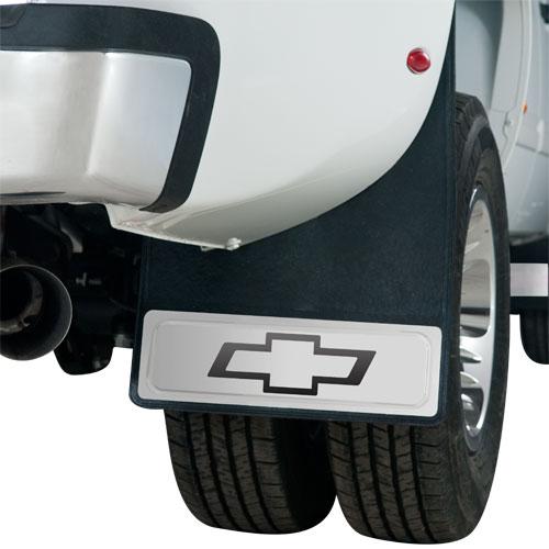 Silverado Bowtie Dually Mud Flaps 20 X 29 Pair Chevymall