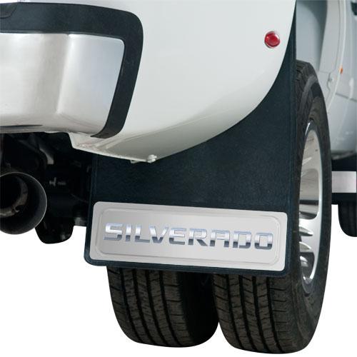 Silverado Dually Mud Flaps 20 X 29 Pair-ChevyMall