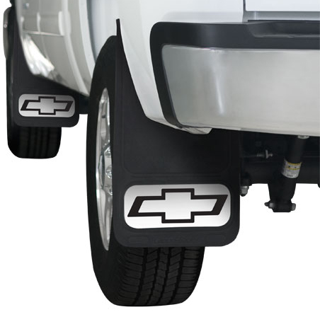 Chevrolet Truck Bowtie Outline Mud Flaps 12 x 22 pair ...