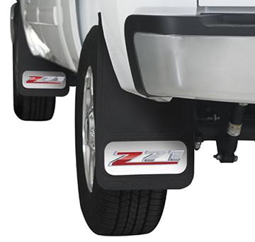Chevrolet Truck Z71 Mud Flaps 12 x 22 pair-ChevyMall