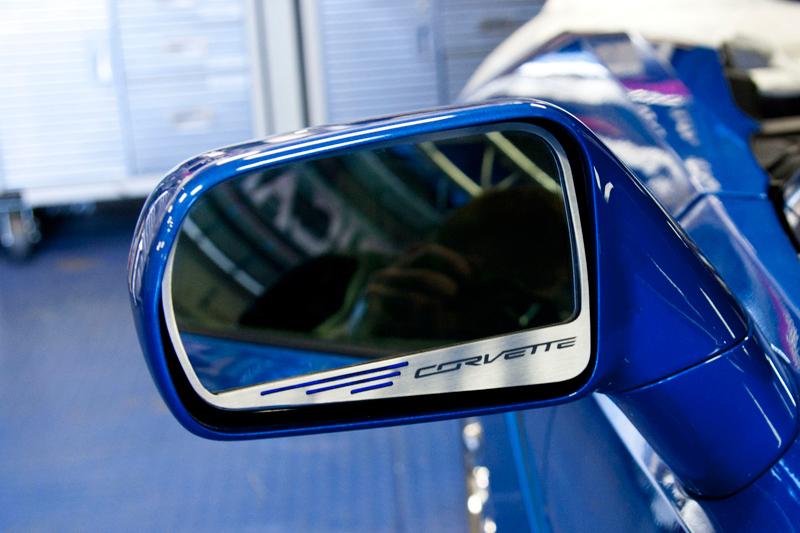 C7 Corvette Side View Mirror Trim-ChevyMall