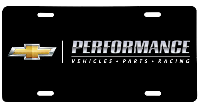 chevrolet performance aluminum license plate chevymall. Cars Review. Best American Auto & Cars Review