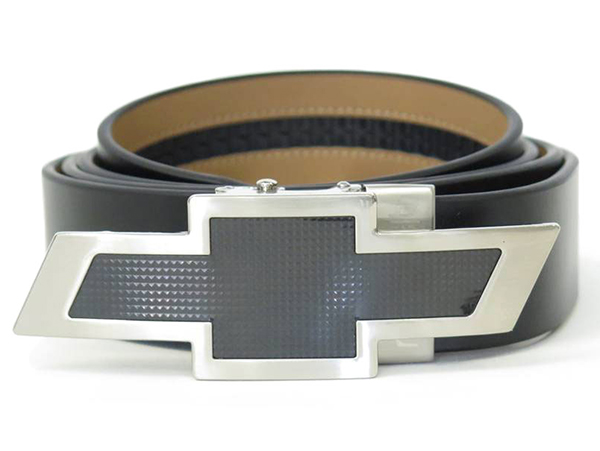 Chevy Belt Buckles >> Chevrolet Black Leather Belt-ChevyMall