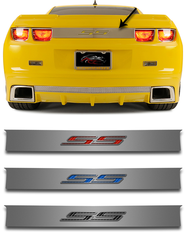 2010 2013 Camaro Ss Trunk Lid Plate Chevymall