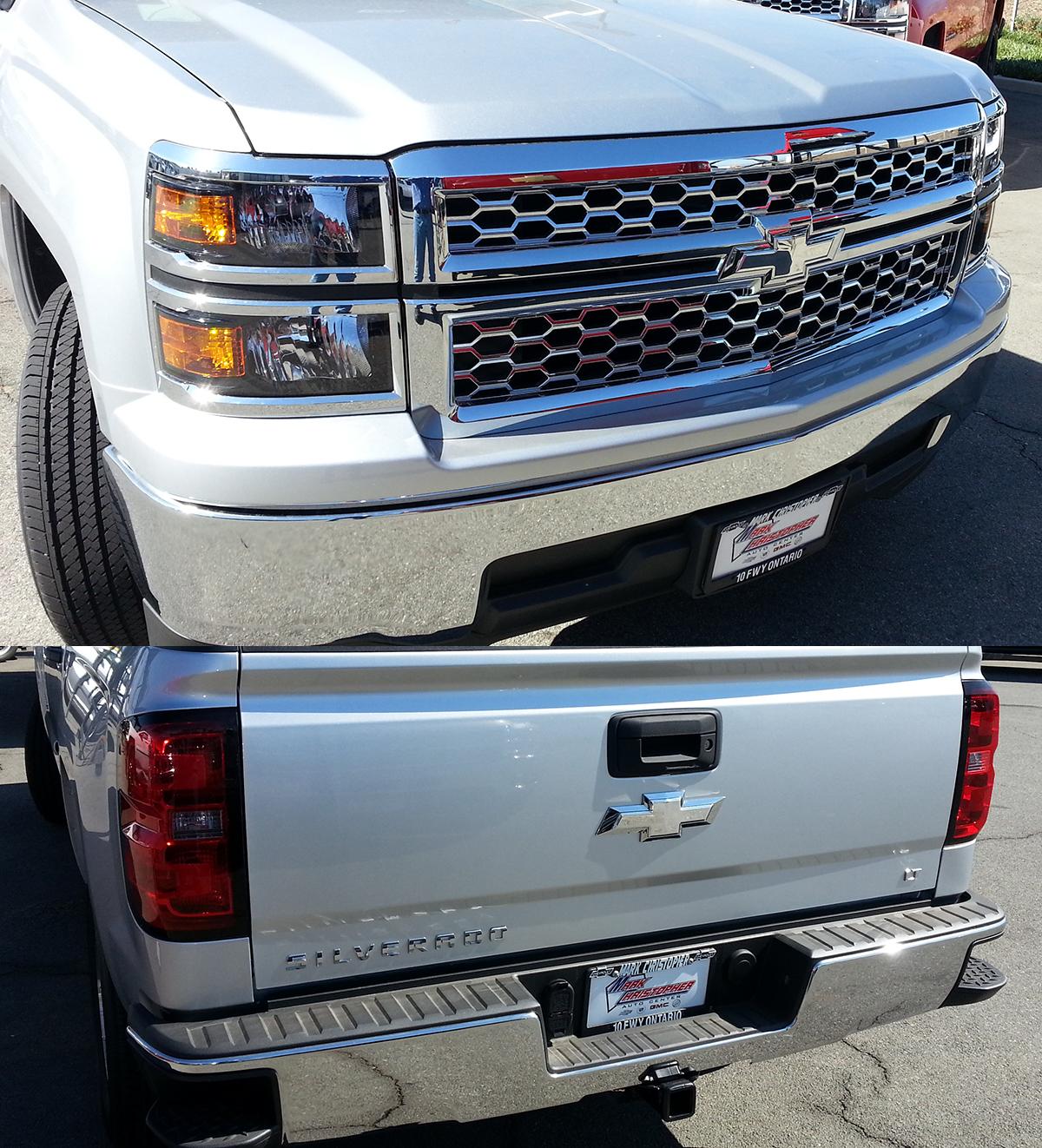 2014 - 2015 Silverado 1500 Insert Polished Bowtie Emblem ...