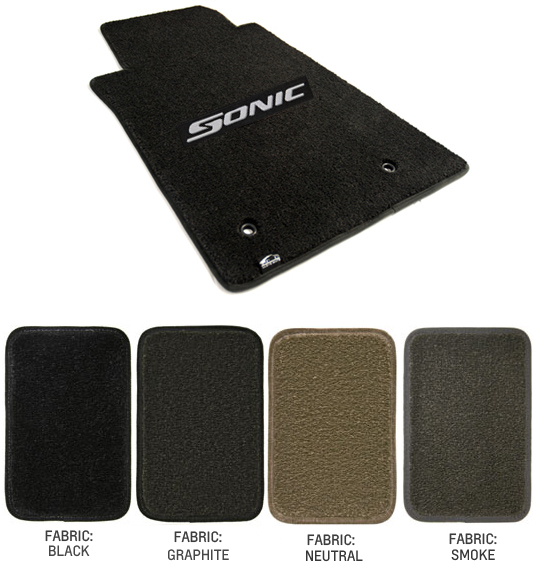 2014 2015 Sonic Floor Mat Set Choose Color Chevymall