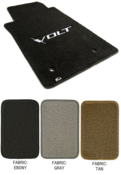 2011 2015 Volt Logo Floor Mat Set Choose Color Chevymall