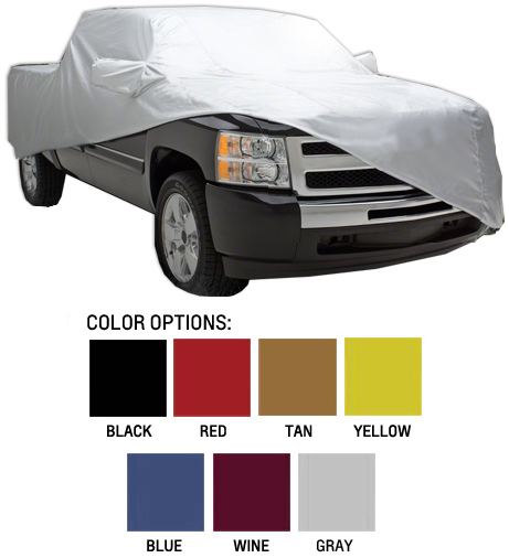 2014 2015 2016 2017 2018 CHEVY TRAVERSE WATERPROOF CAR COVER W//MIRRORPOCKET