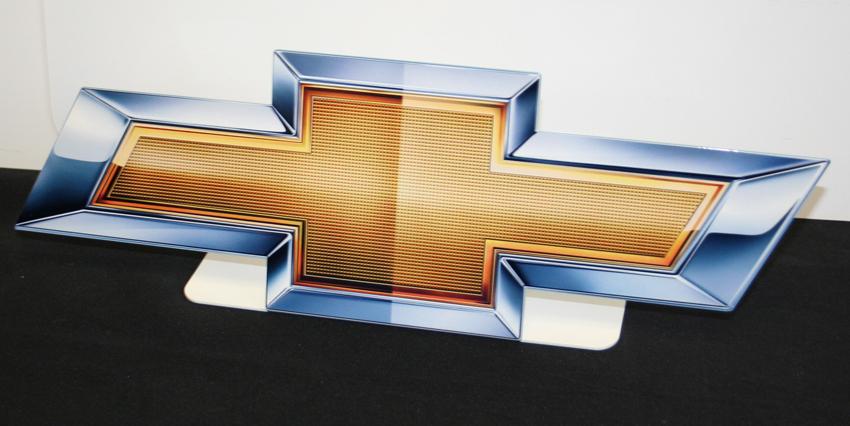 Chevrolet Emblem Desk Stand - ChevyMall