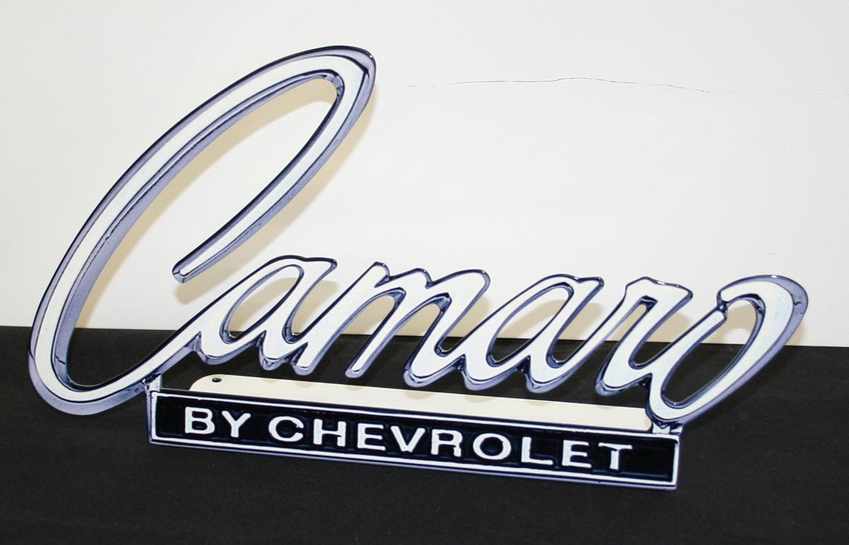 Camaro Emblem Desk Stand Chevymall