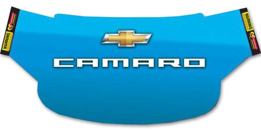 Camaro Blue Windshield Wrap Chevymall