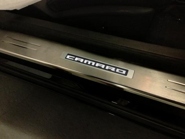 2010 - 2019 Camaro Custom Lighted Stainless Door Sills ...