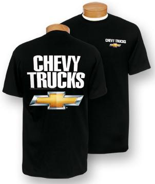 Chevrolet Trucks Black T-Shirt (size Medium only) - ChevyMall