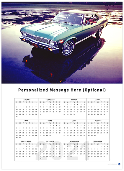 Nova Calendar 2021 Classic Nova 2021 Wall Calendar   ChevyMall