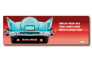 Bel Air Metal Sign - One 50-year-old that looks...