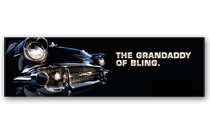 Bel Air Art Poster - The grandaddy of bling.