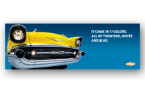 Bel Air Art Poster - It came in 17 colors...