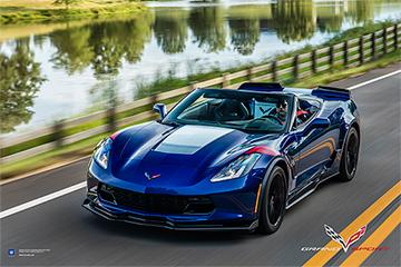 Corvette C7 Sports Stingray Chevrolet Poster