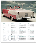 Bel Air 2019 Wall Calendar