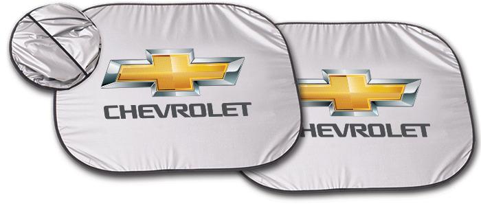 Chevrolet Gold Bowtie Windshield Shade-ChevyMall