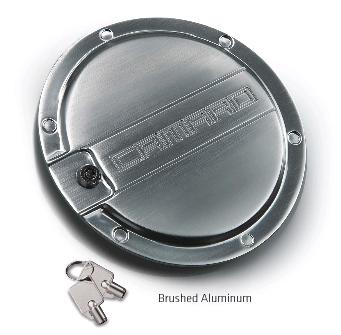 2010 2015 Camaro Locking Fuel Door Black Chrome Or