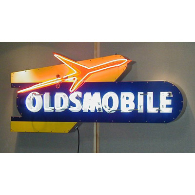 Corvette T Shirts >> Oldsmobile Sign | Chevrolet Neon Signs | Chevy Mall-ChevyMall