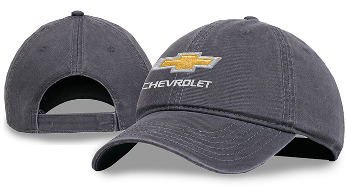 Chevrolet Garment Washed Cotton Cap Chevy Hat