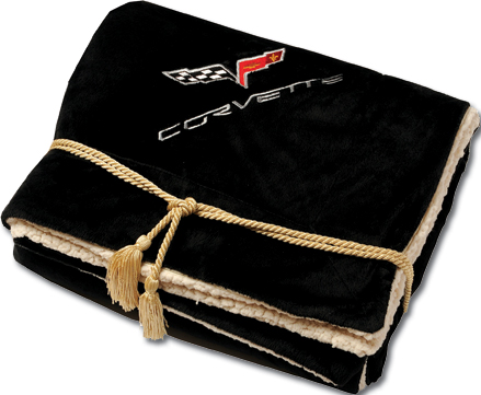 C6 Corvette Lambswool Blanket Chevymall