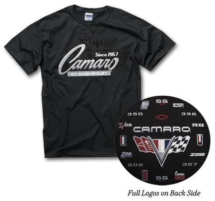 Camaro Since 1967 T-Shirt-ChevyMall