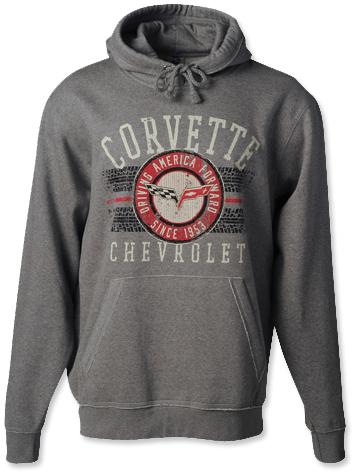 C6 Corvette Tire Tread Hoodie-ChevyMall