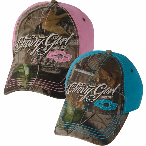 Chevrolet Camo Cap | Chevy Ladies Camo Hat-ChevyMall