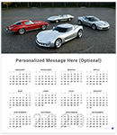 C3 Corvette Lighted Clock-ChevyMall