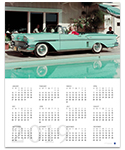 Chevrolet Impala Bel Air 2019 Wall Calendar