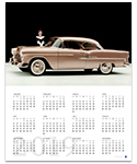 Chevrolet Bel Air 2019 Wall Calendar