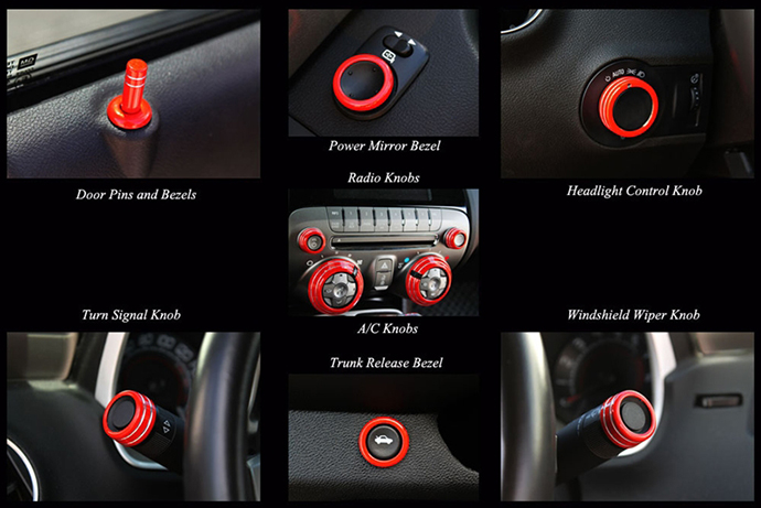 2010 - 2015 Camaro Standard Interior Accessories Package ...