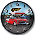 Bel Air 1955 Lighted Wall Clock
