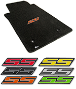 pc mats c camaro set com westcoastcamaro shipping free logo floor floors orange ss at