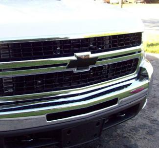 Chevy black emblem bowtie