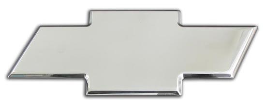 2007 - 2014 Tahoe Full Rear Polished Bowtie Emblem-ChevyMall