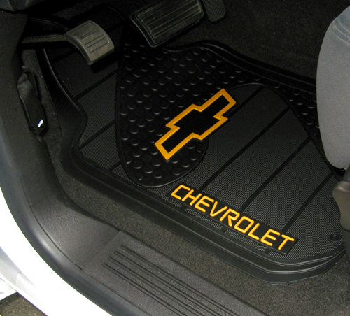 Chevrolet Bowtie Factory Molded Trim To Fit Front Floor