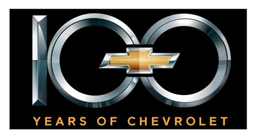 Chevrolet Centennial 100th Emblem Metal Sign - ChevyMall