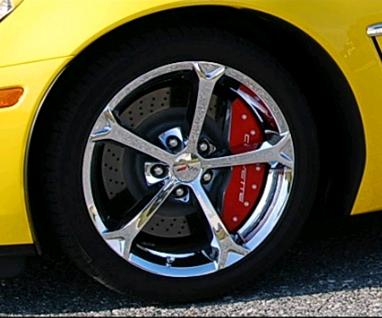 Z06 & Grand Sport Corvette 2006 - 2013 Color Matched Brake Caliper ...