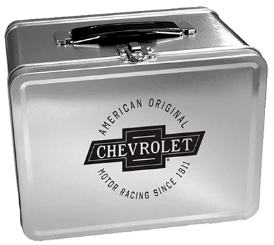 Chevrolet Retro Metal Lunch Box Chevymall