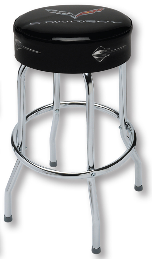 c7 corvette stingray shop stool chevymall