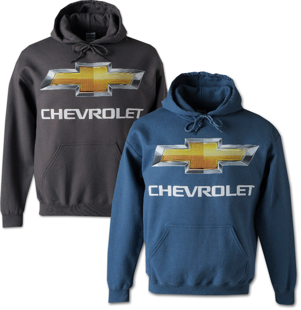 Chevrolet Bowtie Hooded Sweatshirt Chevymall
