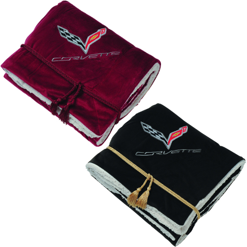 C7 Corvette Lambswool Blanket Chevymall