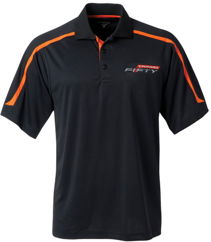 Camaro Fifty Mens Titan Polo Chevymall