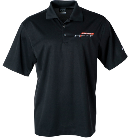 Camaro Fifty Mens Nike Polo-ChevyMall