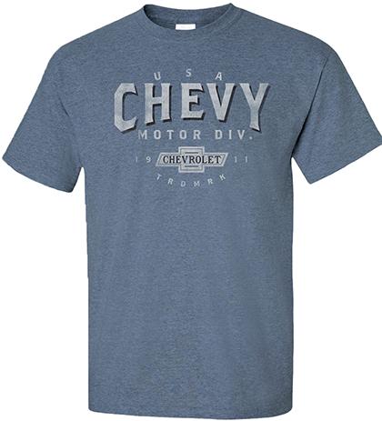 Chevy Motor City T-Shirt (sizes M & XXXL only)-ChevyMall